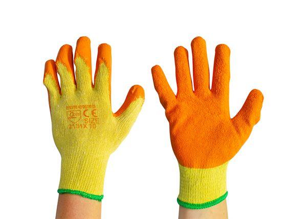 40 007 015 Orange Grip Gloves