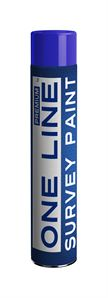 75 002 030 One Line Survey Paint Blue