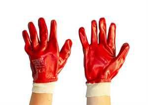 40 007 024 Red PVC Gloves