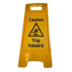 Floor Stand Caution Trip Hazard