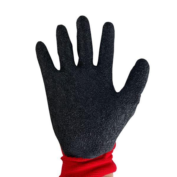 Red Cut Level 1-Latex Grip Glove-Size 10