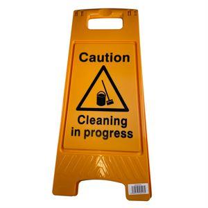 Floor Stand Cleaning In Progress