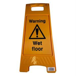 Floor Stand Warning Wet Floor