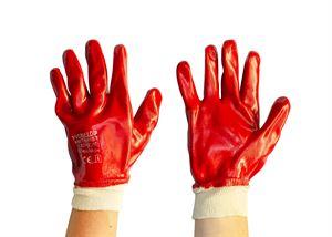 40 007 024 Red PVC Gloves
