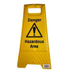 Floor Stand Danger Hazardous Area
