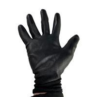 Black PU Palm Coated Glove - Size 10