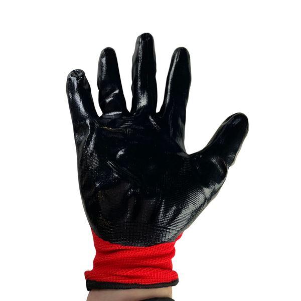 Red Nitrile Lightweight Glove - Size 10