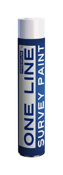 75 002 040 One Line Survey Paint White